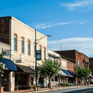 Downtown Rutherfordton, North Carolina